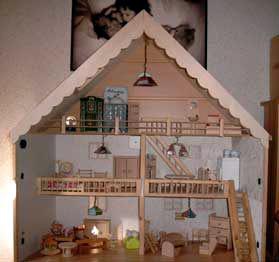 bauanleitung f r ein vogelhaus weihnachtskrippe puppenhaus schrank ebay. Black Bedroom Furniture Sets. Home Design Ideas