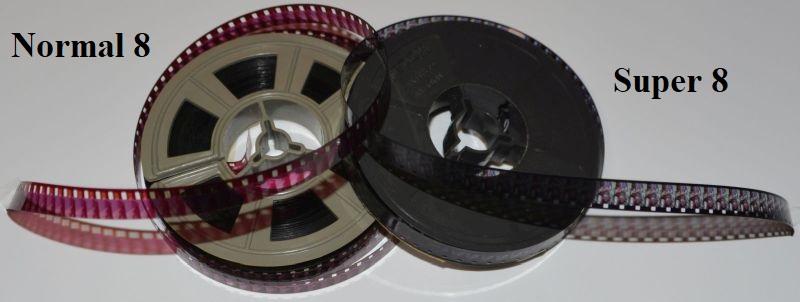 Super 8 und Normal 8 Film